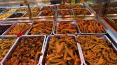 红油凉拌菜培训学员店面图