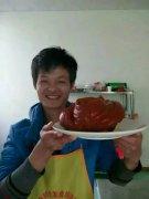 北京烤鸭培训学员戎先生作品