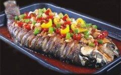 韩式烤鱼培训学员潘先生作品