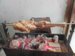 烤羊腿培训学员莫先生作品