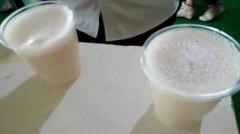 现磨豆浆培训过程展示