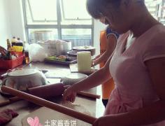 酱香饼培训过程展示