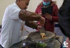 卤肉卷培训过程展示