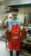 北京烤鸭培训过程展示