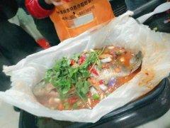 韩式烤鱼培训过程展示