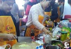 卤菜培训过程展示