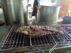 巫溪烤鱼培训过程展示