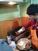 铁板烧烤培训过程展示
