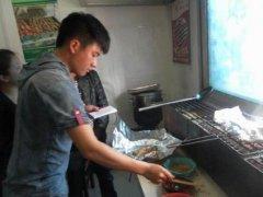 纸上烧烤培训过程展示
