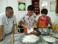 鱼饼培训过程展示