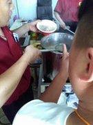 淮南牛肉汤培训过程展示