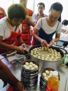 沙县小吃培训过程展示