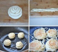 清油盘丝饼培训过程展示