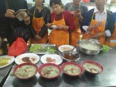 原味汤粉王培训过程展示