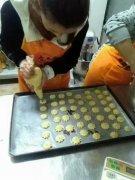 饼干培训过程展示